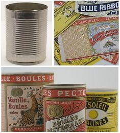 Free Printables- Vintage Can Labels