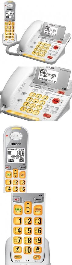 Corded Cordless Phone Combos: Uniden D3098 Corded - Cordless 1.9Ghz Dect 6.0 Combo Telephone (Amplified) -> BUY IT NOW ONLY: $112.73 on eBay!