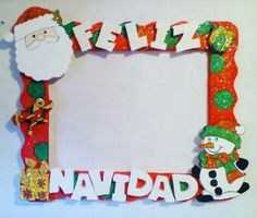 New Holiday stuff Happy Christmas Day, Mexican Christmas, Christmas Time, Christmas Crafts, Christmas Ornaments, Party Photo Frame, Photo Booth Frame, Christmas Photo Booth, Christmas Party Games