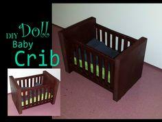 21 Ideas for diy baby doll crib cardboard Baby Barbie, Baby Doll Nursery, Baby Dolls, Baby Bedroom, Diy Barbie Furniture, Dollhouse Furniture, Diy Crib, Baby Doll Accessories, Diy Dollhouse