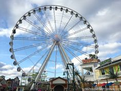 Farris wheel & more at The Island - The Island - Smoky Mountain Attractions in Pigeon Forge Tennessee