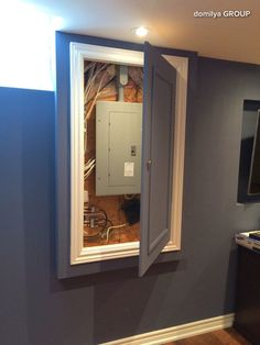 fuse box basement ideas ideas to cover fuse box