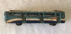VINTAGE-CAST-IRON-TOY-ARCADE-TOYS-BUS-GREYHOUND-LINES-NEW-YORK-WORLDS-FAIR-1939