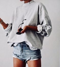 Hair Styles For School spring look streetwear in Mode Outfits, Casual Outfits, Fashion Outfits, Fasion, Dress Casual, Short Outfits, Casual Hair, Comfortable Outfits, Fashion Clothes