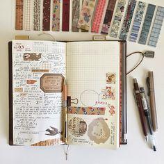 This calendar set up + a bullet journal insert might get me to wander out of my pure bullet journaling+journaling leuchtturm 1917...