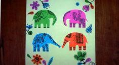 Elephant paper craft (5)