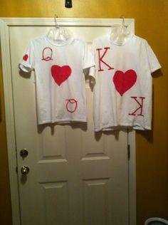 Diy king queen of hearts costume diy costumes pinterest king and queen of hearts diy costumeshalloween costumescouple solutioingenieria Image collections