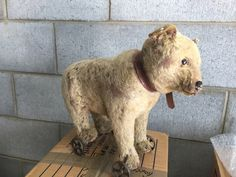 STEIFF Original Pull-a-long Bear C1905-1909 by specialbys on Etsy https://www.etsy.com/listing/270356361/steiff-original-pull-a-long-bear-c1905