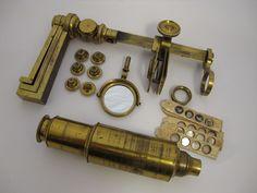 Antique Brass Carpenter Type Microscope. c1810. |  | eBay!