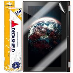 """[3-PACK] DeltaShield BodyArmor - Lenovo Yoga 2 11"""" Screen Protector - Premium HD Ultra-Clear Cover Shield with Lifetime Warranty Replacements - Anti-Bubble"""