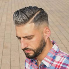 "Gefällt 748 Mal, 4 Kommentare - Men's Hair Style Grooming 2017 (@ambarberia) auf Instagram: ""Skin fade Natural and elegance. Trend hairstyle 2016 and Beard. 》Tag your friend+…"""