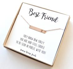 e7f800003e Initial Necklace,Best Friend Gift,Gift for Her, Personalized Bridesmaid Gift,  Personalized .