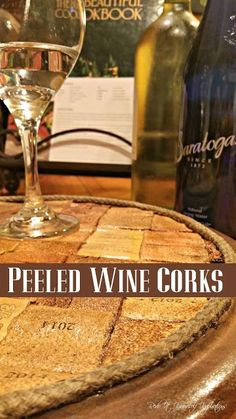 How to Peel Wine Corks and Flatten Them | Redo It Yourself Inspirations | Bloglovin'