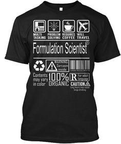 Formulation Scientist - Multitasking