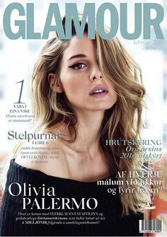Olivia Palermo by Silja Magg for Glamour Iceland February 2017 Cover