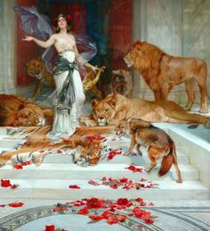 magrittee:  Wright Barker - Circe (partial)