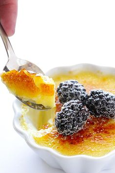 Vanilla Bean Creme Brulee Recipe by @gimmesomeoven for @kitchenaid