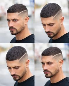 Image may contain: 4 people, beard, closeup and text Cool Hairstyles For Men, Hairstyles Haircuts, Haircuts For Men, Winter Hairstyles, Medium Hairstyles, Pretty Hairstyles, Hair And Beard Styles, Short Hair Styles, Crew Cut Hair