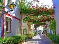 Mogan town,Canary Islands,Spain