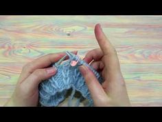 Узор спицами. Вытянутая лицевая петля на изнаночном полотне. - YouTube Crotchet, Knit Crochet, Crochet Hats, Stitch Patterns, Knitting Patterns, Honeycomb Stitch, Silk Art, Knitting Videos, Beading Projects