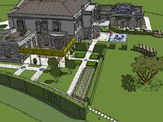 Surrey B | Projects | Richard Miers - Garden Design