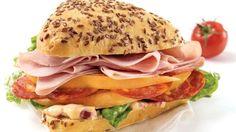Sandwich duo de charcuteries | Recettes IGA
