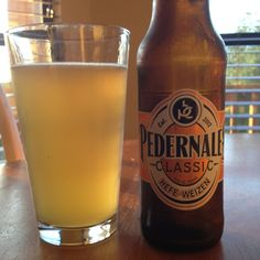 Pedernales Classic Hefeweisen, Pedernales Brewing Co, Fredrericksburg, TX. Good Beer!