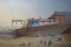 ~ Beach Day, Tenby  ~ Peter Cronin ~ artist from the popular Vale of Glamorgan  ~