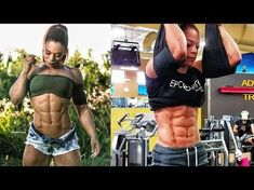 KESSIA MIRELLYS: BEST ABS WORKOUT EVER - YouTube