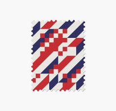 32 World Cup Stamps, Croatia _ Design: Mann