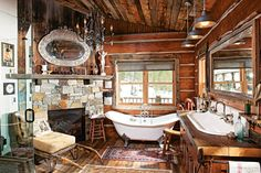 From bathrooms to bunkrooms, every log home needs that one restful retreat. Cuddle up with some of our log cabin images of favorite snug sanctuaries.