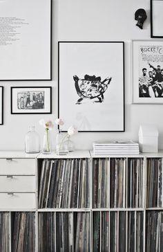shelves & gallery