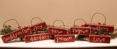 Christmas ornaments or decor