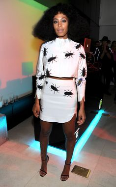 Solange Knowles from 2014 Grammys: Party Pics   E! Online
