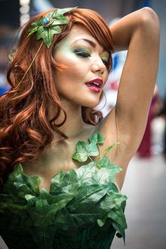 Best cosplay Comic Con New York 2014 - Poison Ivy