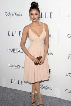 Nina Dobrev destacaba en los Elle Women in Hollywood Awards