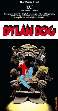 Dylan Dog torna a essere pubblicato in USA - http://www.afnews.info/wordpress/2016/01/02/dylan-dog-torna-a-essere-pubblicato-in-usa/