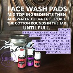 Face wash pads