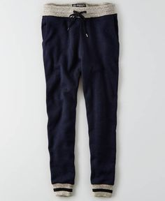 AEO Fleece Jogger (Jogging Pants), Men's, Indigo