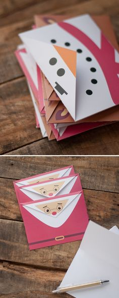 Printable Holiday Envelopes   this heart of mine