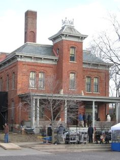 Old Jail from Crown Point, IN where part of the Public Enemies movie was filmed. John Dillinger escaped from this jail.