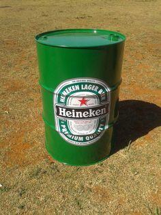tambor | barril | tonel decorativo heineken - Contato…