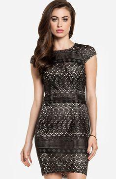 Dolce Vita  Wallis Leatherette Dress in black