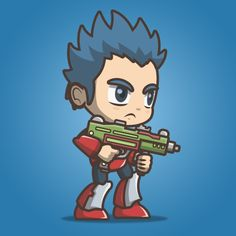 Joe From The Metro Squad. A set of character sprite. Suitable for side scrolling shooter game. Affordable royalty free game art for indie game developer. Soldier Drawing, Army Drawing, 2d Character, Game Assets, Free Games, Cool Drawings, Game Art, Squad, Indie