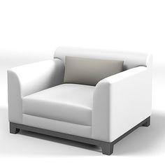 JNL 3D armchair _