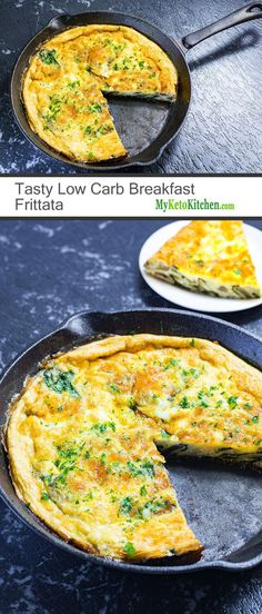 Tasty Low Carb Breakfast Frittata (Keto, Gluten Free, Grain Free)