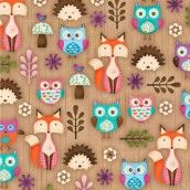 Spectrix - Beige Woodland Set Animals - plushaddict - think my little girls would like something made in this :)