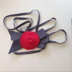 J. Crew Accessories - HPJ.Crew Silk & Grosgrain Sash/Headband