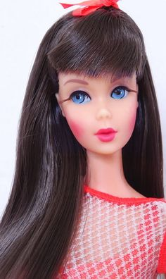 Amazing! Vintage Dark Brunette Twist 'N Turn TnT Barbie Doll Stunning! Mint!