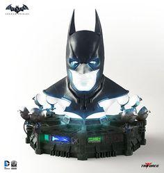 Batman Arkham Origins Cowl Full-Scale Replica